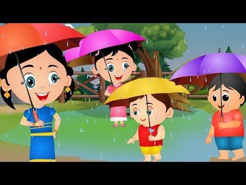 Barish Aayi Cham Cham Cham - Hindi Rhymes | बारिश आई | Hindi Nursery Rhyme for Children by JoJo Kids