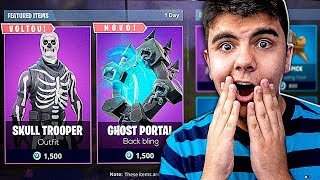 Fortnite: Is the SKULL TROOPER's SKIN going BACK to the STORE?! BASHFUL
