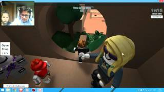Neo & Tia playing ROBLOX Hide and seek extreme croatian