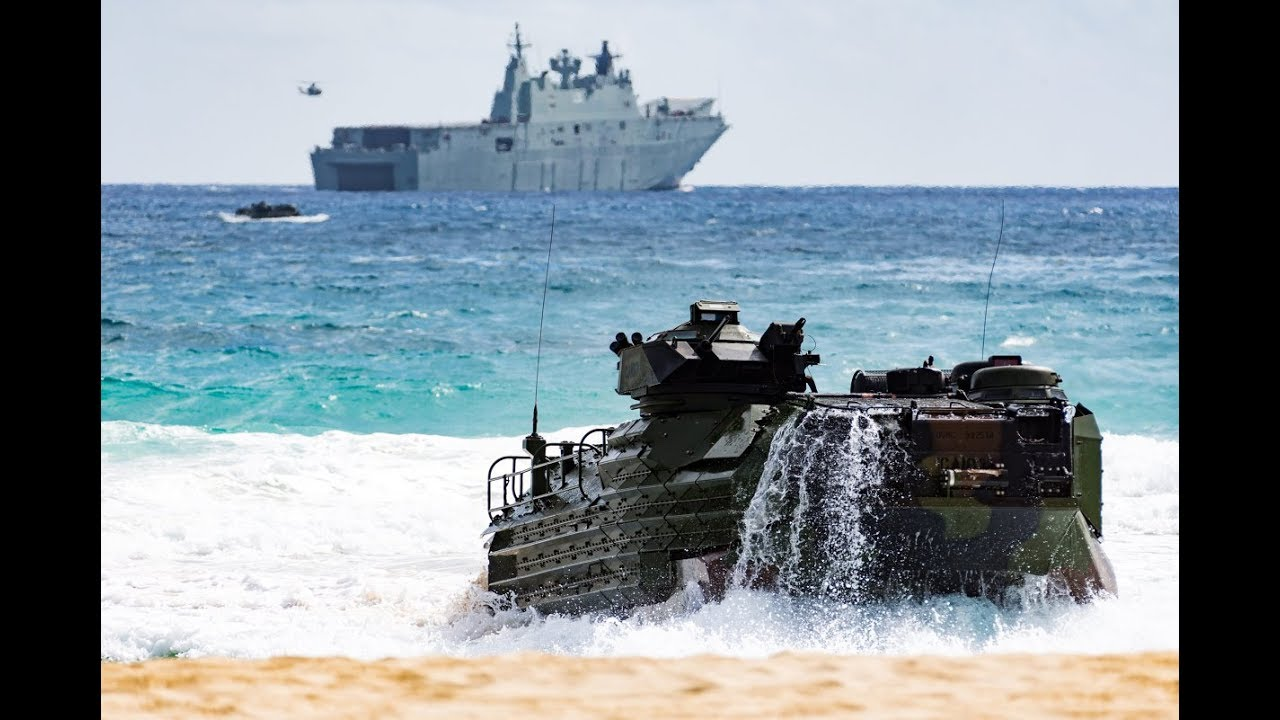 Amphibious assault marks end of Exercise RIMPAC