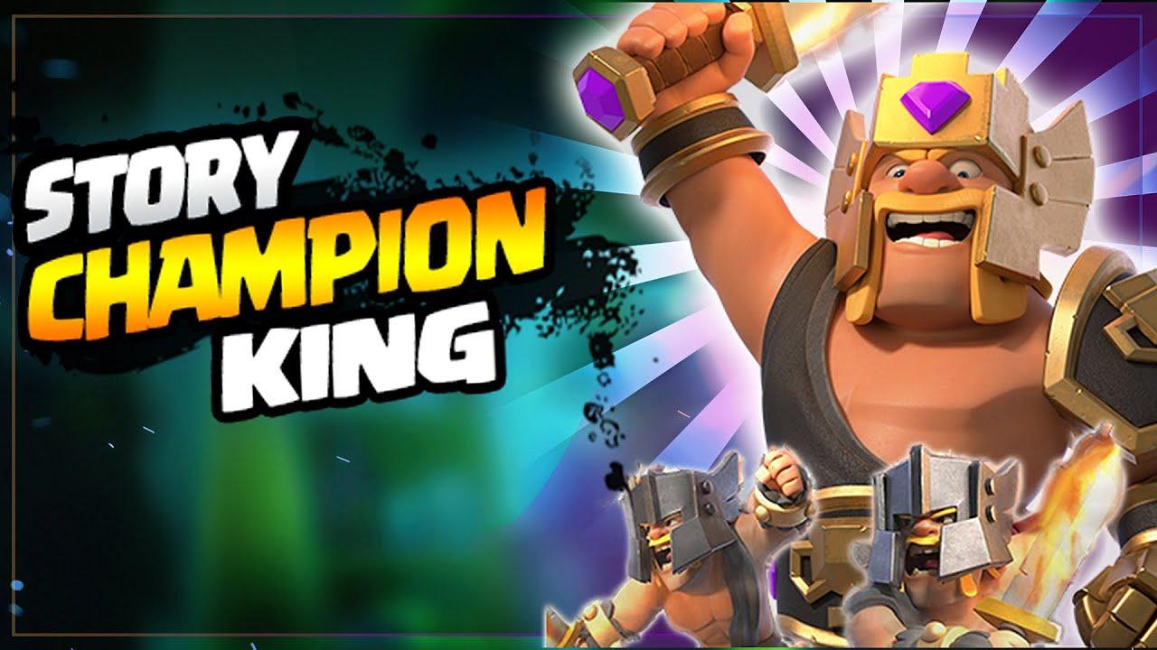 """CHAMPION KING  "" STORY  | Barbarian king के  पास armor  कैसे आया? Clash Stories Episode  112"