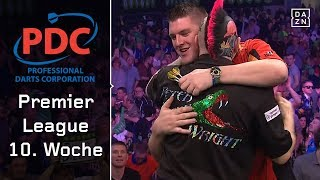 Emotionaler Moment – Fans gedenken Eric Bristow | Highlights | PDC Premier League | DAZN