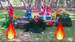 Video Little Heroes 10 - The Spark, The Police Car, The Fire Engine and The Dump Truck download MP3, 3GP, MP4, WEBM, AVI, FLV November 2017