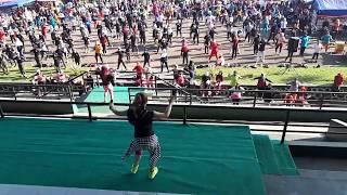 Video ZUMBA Via Valen | Sayang Choreo by Rida Setiani CIMAHI download MP3, 3GP, MP4, WEBM, AVI, FLV Desember 2017