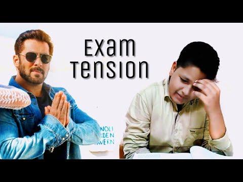 exam tension with Salman khan | funny...