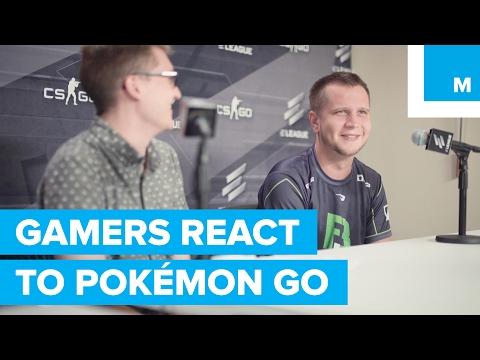 Professional Gamers React to Pokémon Go