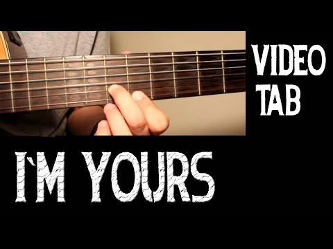 I´M YOURS - Jason Mraz - Solo - Base - Guitar Tab