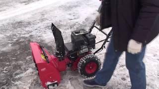 Машина снегоуборочная Elitech СМ 6