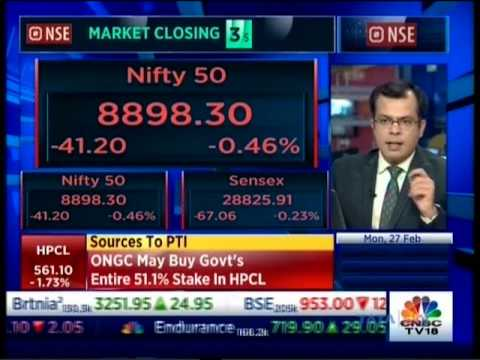 Mr. Rajen Shah on CNBC - NSE Closing Bell on 27 Feb 2017