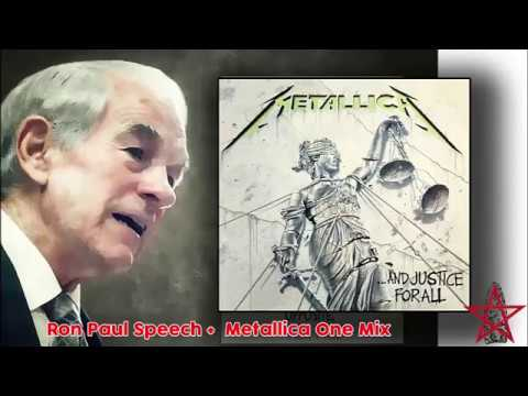 Ron Paul Metallica One Mix Memorial Day Dedication