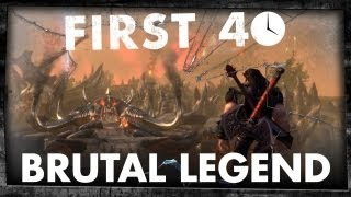 First 40 - Brutal Legend (PC Gameplay)