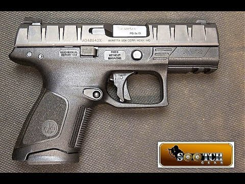 New Beretta Apx Compact 9mm Review Youtube