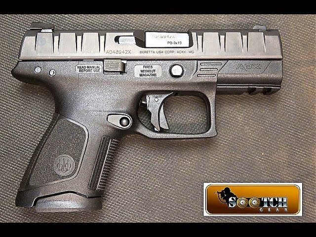 New Beretta APX Compact 9mm Review