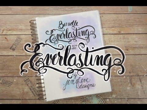 """Everlasting"" How I Made My Work Book"