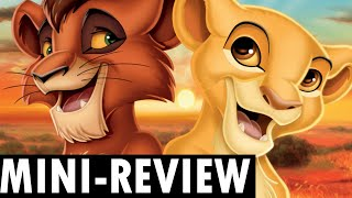 The BEST Disney Renaissance sequel! - The Lion King 2 Simba's Pride | Critically Quick Review