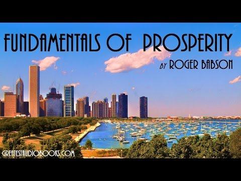 FUNDAMENTALS OF PROSPERITY by Roger Babson - FULL AudioBook   GreatestAudioBooks.com
