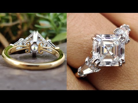 3.68-tcw-asscher-and-tapered-baguette-colorless-moissanite-three-stone-vintage-engagement-ring