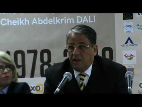 CONFERENCE DE PRESSE FONDATION CHEIKH ABDELKRIM DALI AVEC MRS NOURI KOUFI ET NOUREDDINE SAOUDI