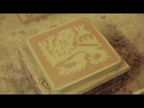 Genuine Victorian Encaustic Floor Tile Manufacturing