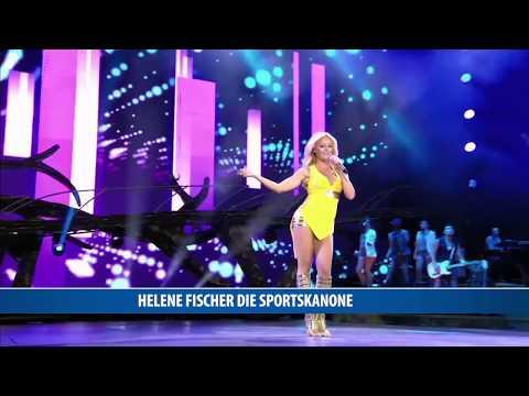 Helene Fischer die Sportskanone