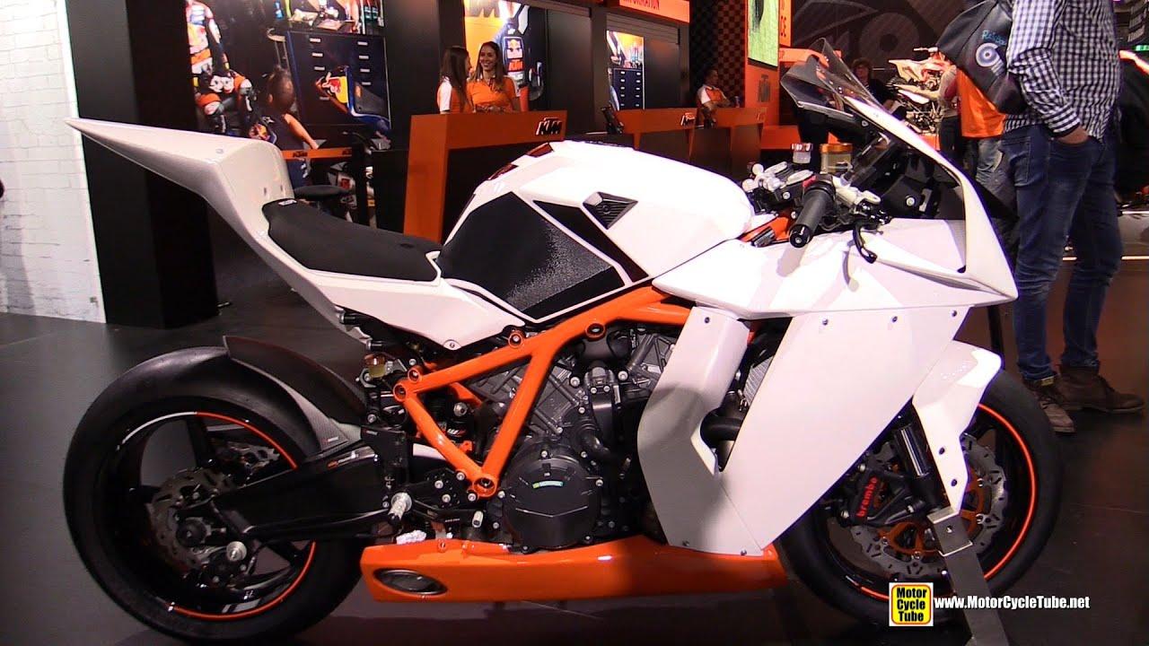 2015 KTM 1190 RC8 R - Walkaround - 2014 EICMA Milan Motorcycle ...