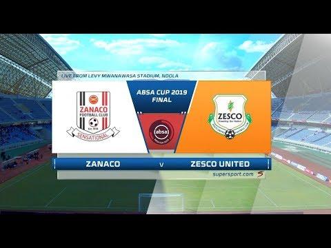 2019 Absa Cup Final | Zanaco Vs Zesco United | Highlights