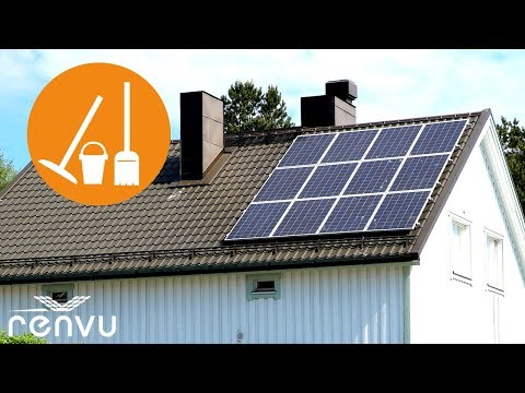 Cleaning Solar Panels 101 — Why & How | RENVU