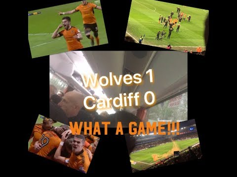 THE BEST AWAY DAY EVER!!!   Wolves 1, Cardiff 0| My Match Highlights| (06/04/18)|