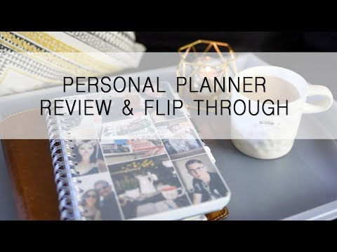 Personl Planner   Fitness Journal and Review