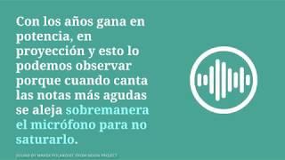 Análisis de la evolución vocal de Luis Miguel