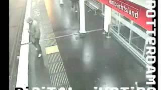 Rotterdam Metro Station Retteketet Politie bericht
