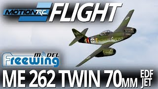 "Freewing Messerschmitt Me 262 ""Yellow 7"" V2 Twin 70mm EDF Jet - Flight Review - Motion RC"