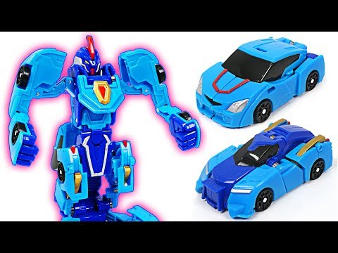 Thumbnail: Turning Mecard appeared in Hello Carbot? EvanPrime with two cars combined!! Transfomers - DuDuPopTOY