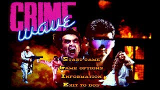 Crime Wave (PC/DOS) 1990, Access Software, Inc.