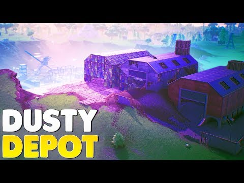 BUILDING DUSTY DEPOT FOR CDNTHE3RD | Fortnite Battle Royale