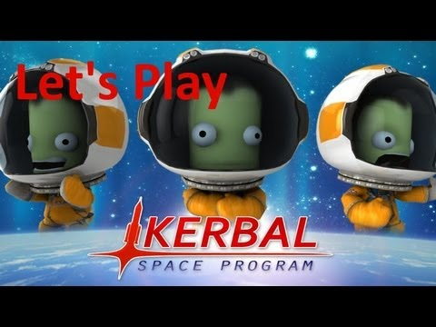 Kerbal Space Program 0.21 - Tutorial #001 Sputnik (Erster Satellit im All) [HD] [Deutsch]