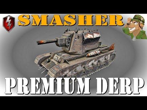 Smasher | Premium Derp | World of Tanks Blitz [2019] thumbnail