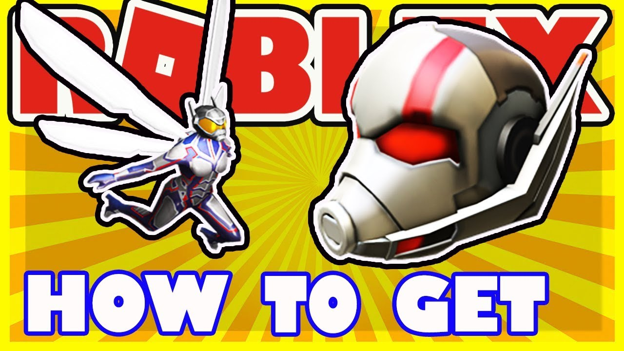 Free Gear How To Get Ant Man Helmet And The Wasp Gear In Roblox