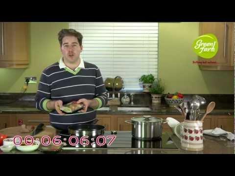 Green Farm - 7 Minute Recipe with Edward Hayden - Chicken & Noodle Stir Fry