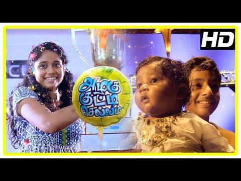 Azhagu Kutti Chellam Climax | Krisha win tournament | Karunas and Vinodhini get babies | End Credits