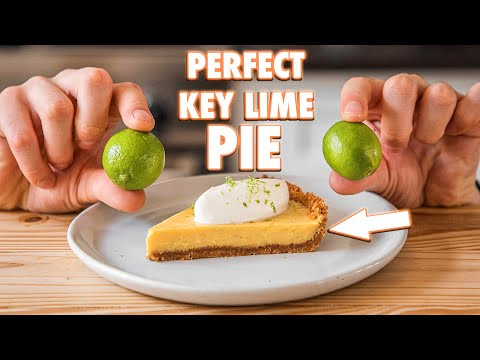 The Ultimate Key Lime Pie ENTIRELY From Scratch