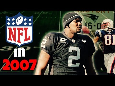 What the NFL Looked Like 10 Years Ago
