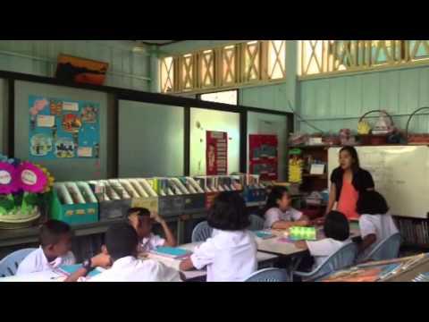 วีดีโอการสอนภาษาอังกฤษ เรื่อง Fruits ป 3