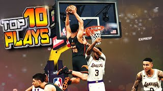 """TOP 10 """"BULLY BALL"""" Plays Of The Week #48 - NBA 2K20 Posterizers, Blocks & More"""