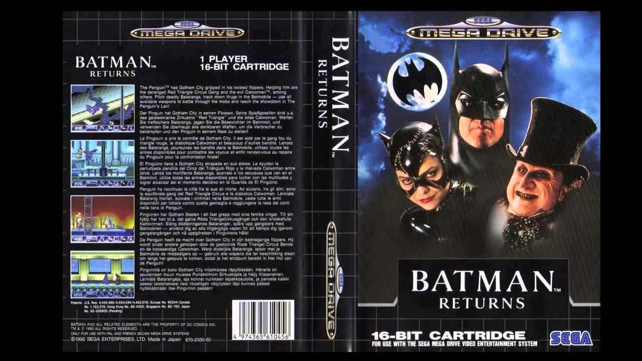 batman returns sega genesis