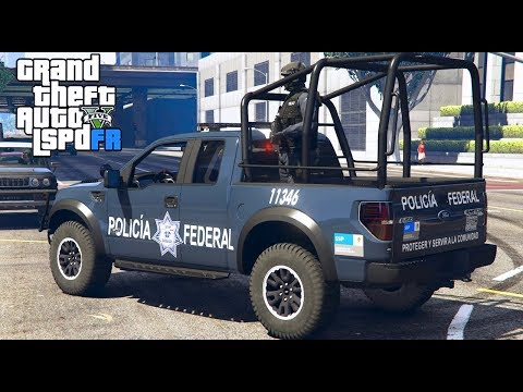 GTA 5|LSPDRF #196|POLICIA FEDERAL MÉXICANA - CATEO |EdgarFtw