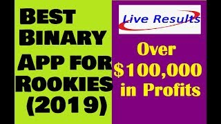 Best Binary Trading App for Beginners 2019 (Easy Results) LIVE SESSION