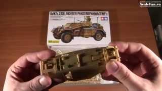 TAMIYA Sd.Kfz.223 Leichter Panzerspahwagen Fu 1:35
