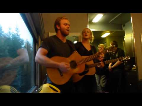 """""""Artist's On Board"""" the Via Rail Train from Edmonton to Vancouver."""