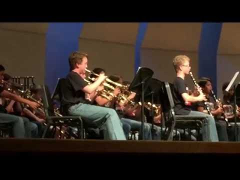 "Wester Middle School Beginning Band – ""Smoke on the Water"""